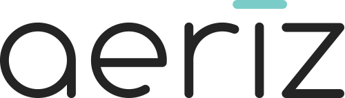 Aeriz logo home page link